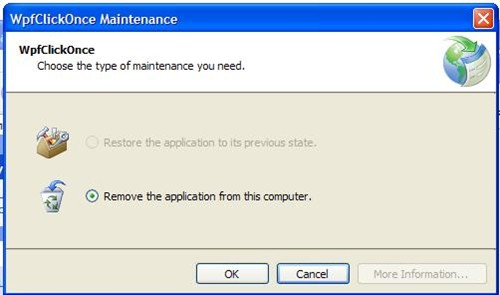 NET development: Deploy and Update WPF application with